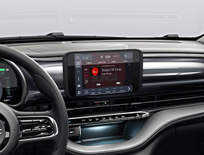 "RÁDIO COM ECRÃ TÁTIL DE 7"", CARPLAY"
