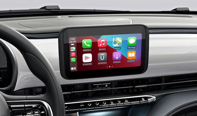 Radio 7'' touchscreen with wireless Apple CarPlay / wireless Android AutoTM